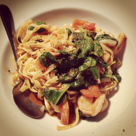 King Prawn Linguine