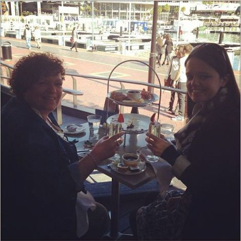 Champagne breakfast in Sydney