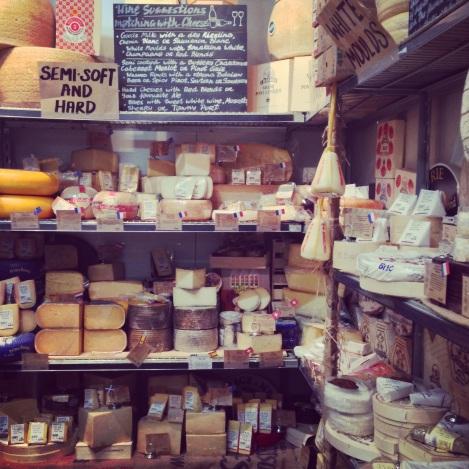 Cheese room at Fourth Village Providore Mosman