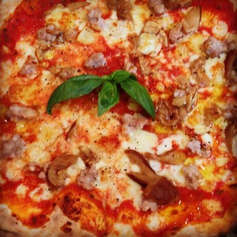 Huntsman pizza at Fourth Village Providore Mosman