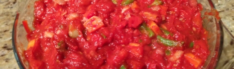Vegetarian chilli con carne ready to bake