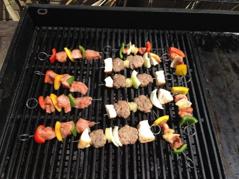 Cooking on the BBQ