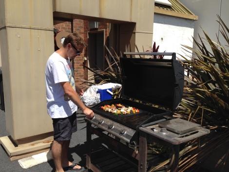 Dan at the BBQ