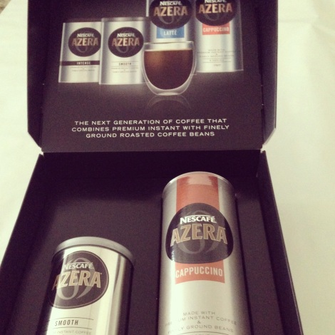 Nescafe Azera coffee presentation box