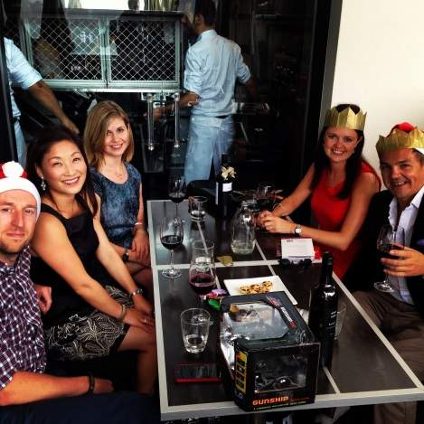 Christmas lunch at Cafe Sydney