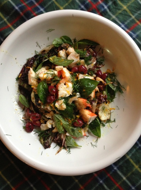 Ottolenghi's Lobster Salad