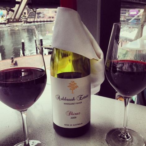 Wine at Zaaffran Sydney