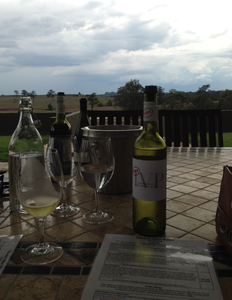 Wine Tasting at Thomas Allen Hunter Valley