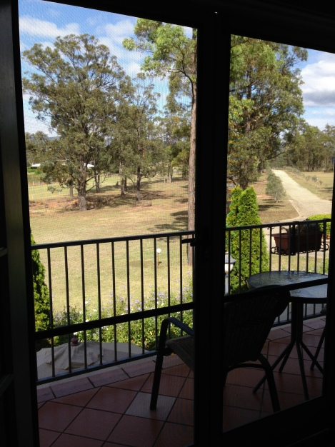 View at Villa Provence Hunter Valley
