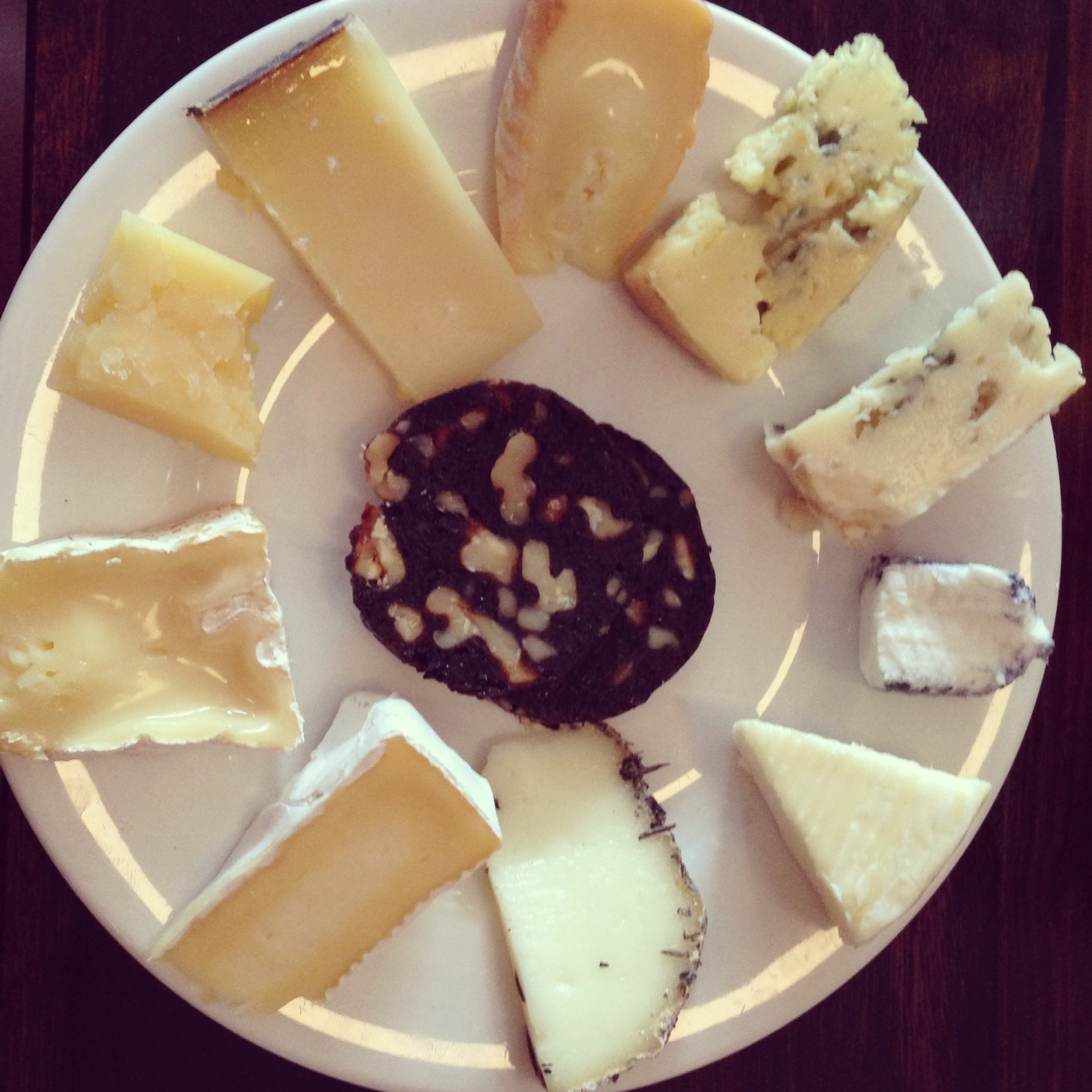 Plate of cheese at The Australian Sydney & Sweet dreams are made of cheeseu2026 | Flavour Adventure
