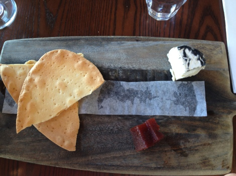 Cheese plate at The Pantry in Manly